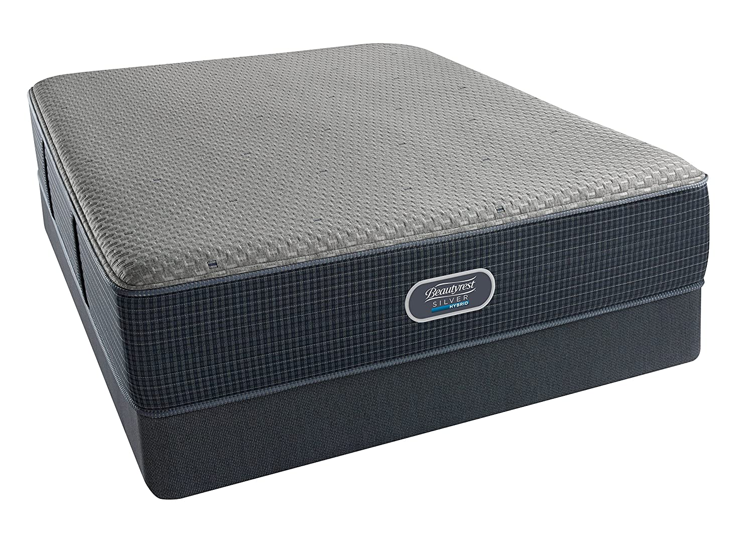 amazon com beautyrest silver hybrid firm 3000 king hybrid mattress