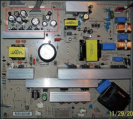 Kit de reparación, LG 37LC7D, monitor LCD, condensadores, no toda la junta: Amazon.es: Electrónica