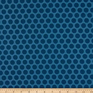 Andover Delfina Spots Navy Fabric by the Yard
