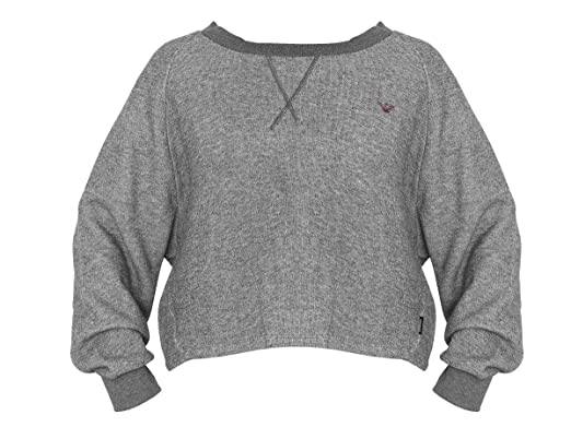 ad7b2f1fd33df Emporio Armani - Sweat-shirt - Femme - gris - 38  Amazon.fr ...