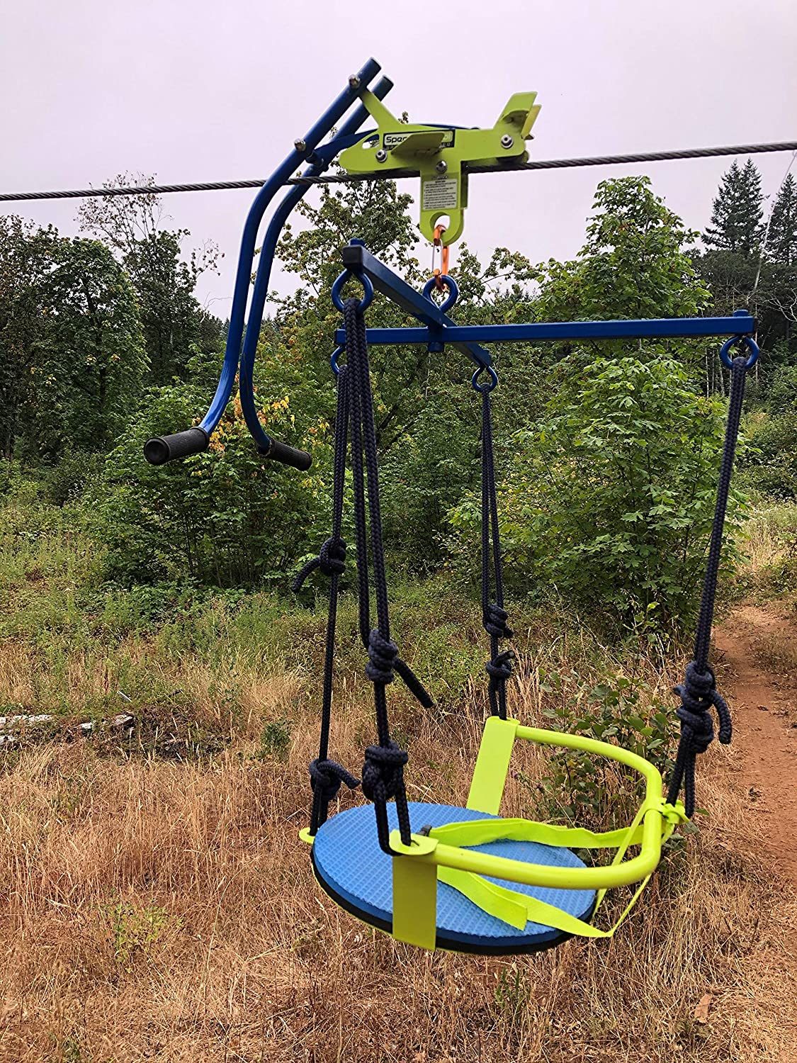 Amazon.com: Zip line Trolley with Brake - Featuring The ...