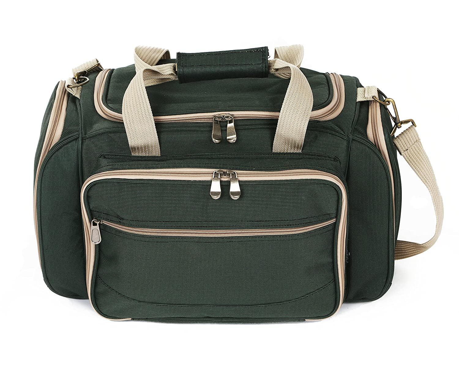 Greenfield Collection Bolsa térmica Deluxe para Cuatro Personas Verde Bosque BPH4DGH-Bolsa, Color, 29x45x23 cm