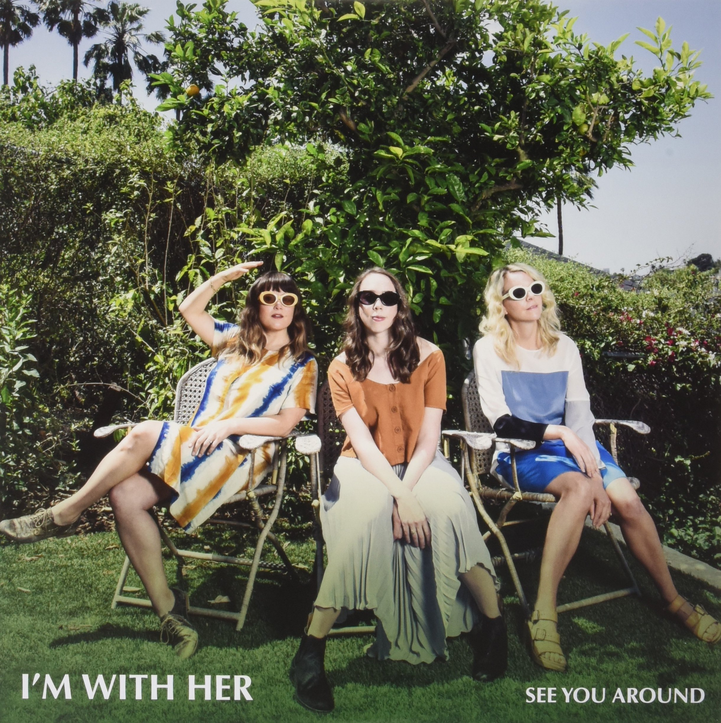 Vinilo : I'm with Her - See You Around (Limited Edition, Colored Vinyl, Maroon)