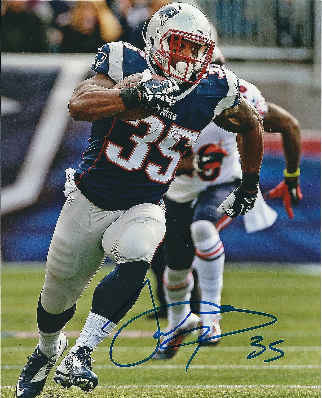 Autographed Jonas Gray New England Patriots 8x10 Photo at Amazon's ...
