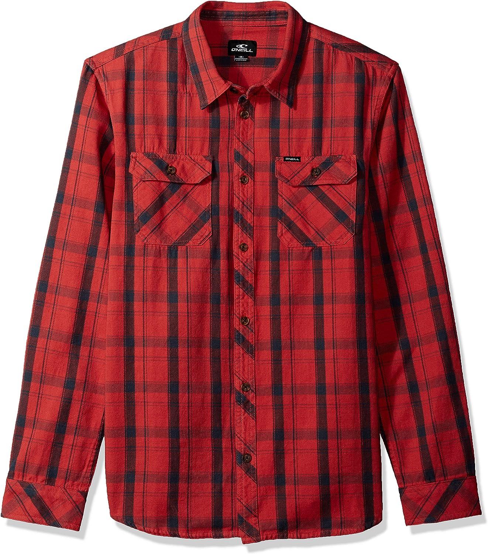 ONeill Hombre SP8104201 Manga Larga Camisa: Amazon.es: Ropa y accesorios