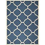 Safavieh Courtyard Collection CY6243-268 Navy and