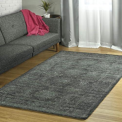 Kaleen 5' x 7'9″ Wool Area Rug