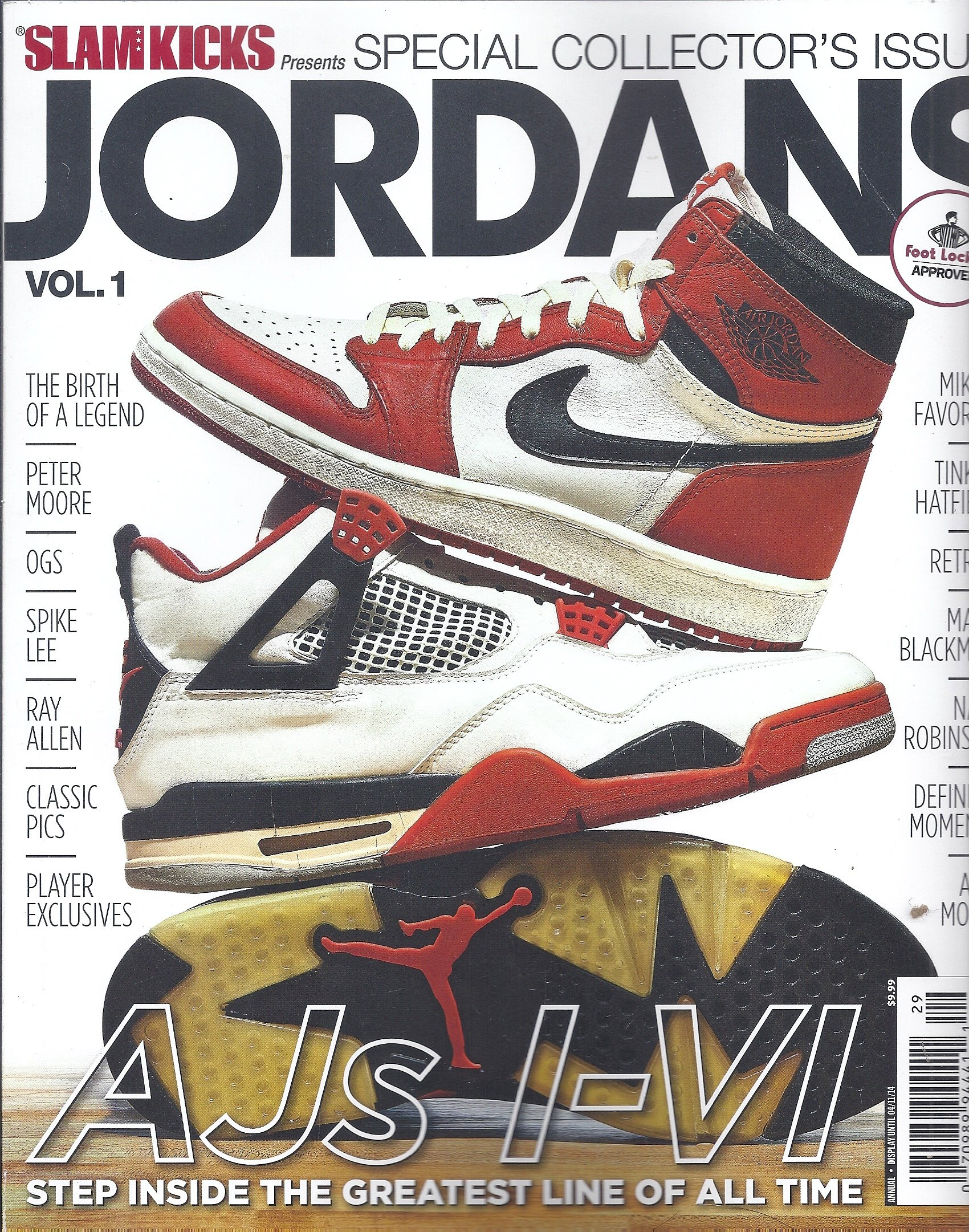 9b2bc233fa1ec9 Slam Kicks Presents Jordans Volume   1(Special Collector`s Issue) Single  Issue Magazine – 2014