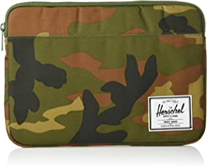Herschel Anchor Sleeve for MacBook/iPad, Woodland Camo/Woodland Camo, 13-Inch