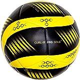 Bend-It Size 5 Soccer Ball, Curl-It Pro Gold Soccer Match Ball
