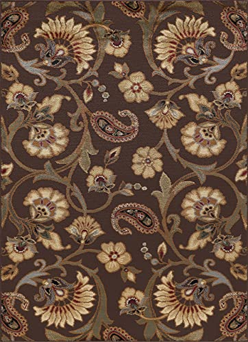 Universal Rugs 105328 Brown 5×7 Area Rug