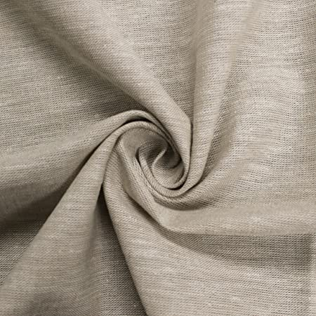 Amazon Com Beige 57 Cotton Linen Flax Fabric Yard