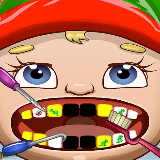 Santa's Elf Dentist Office Salon Dress Up Game - Fun Christmas Holiday Games for Kids, Girls, Boys