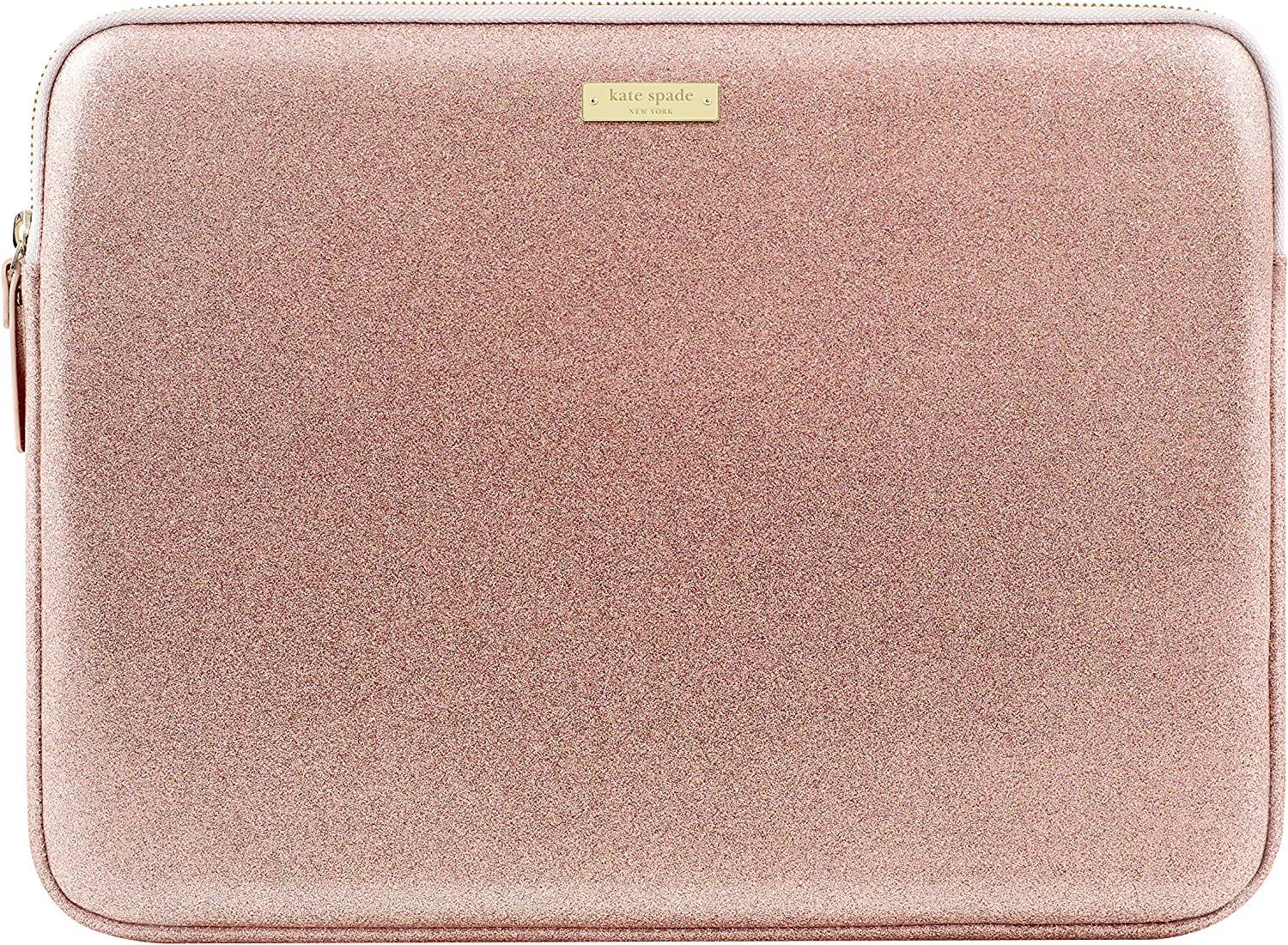 "kate spade new york Sleeve for 13"" MacBook, 13"" Laptop - Rose Gold Glitter"