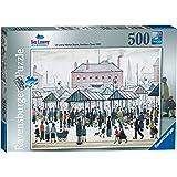 Ravensburger L.S. Lowry Market Scene North 500pc Jigsaw Puzzle