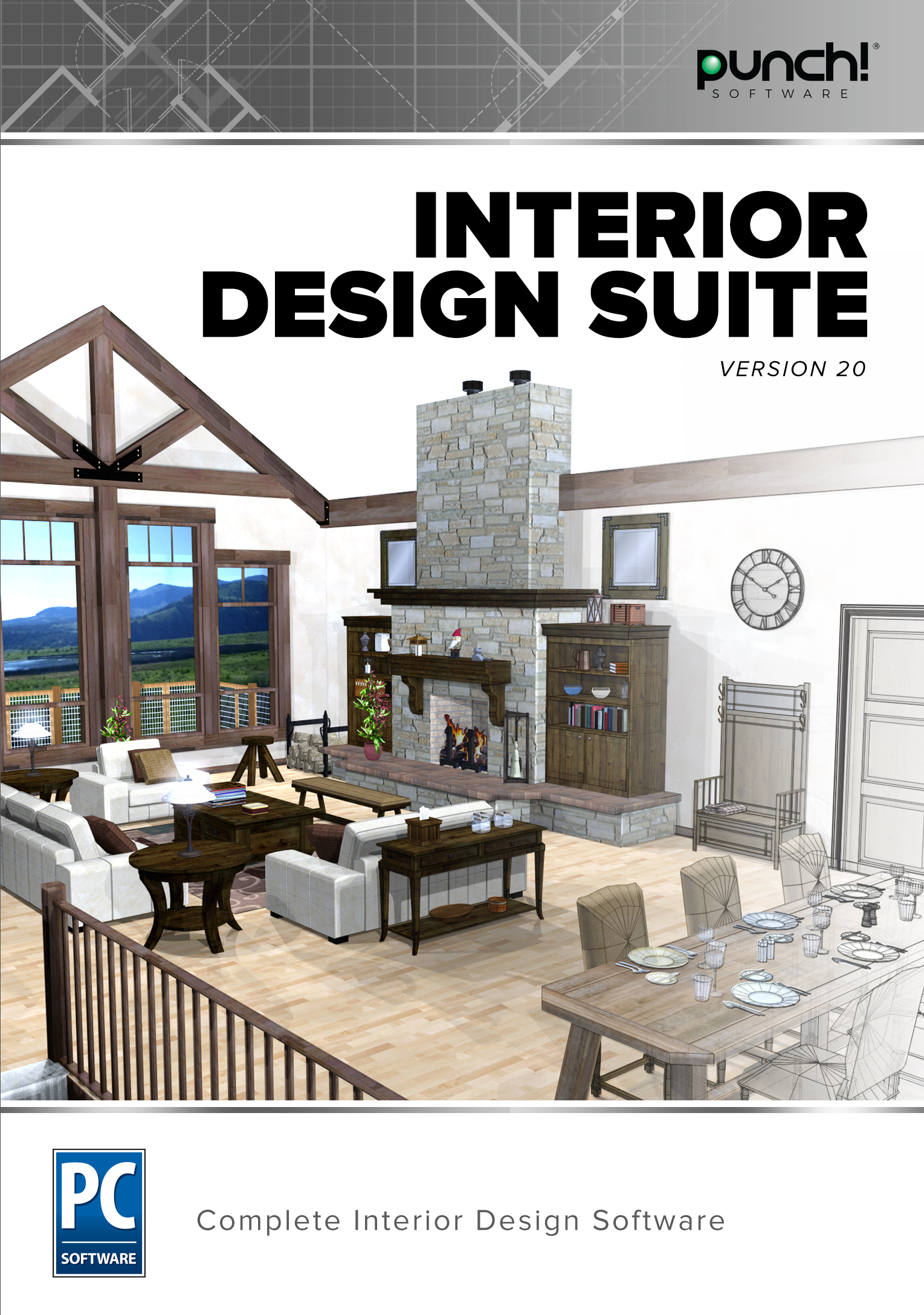 Punch! Interior Design Suite v20 [Download] by Encore