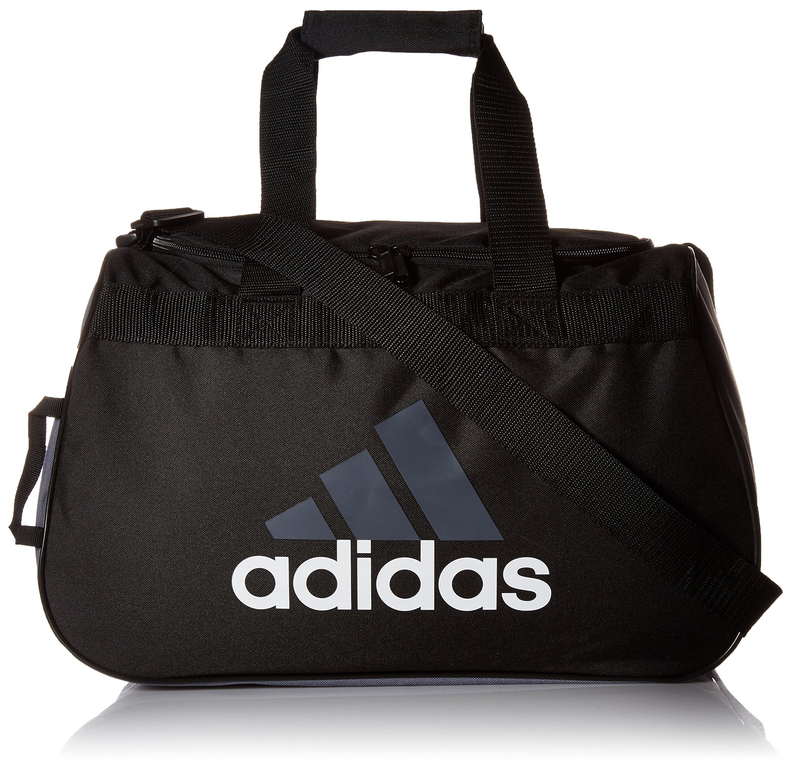 adidas Diablo Small Duffel Bag, Storm Grey, One Size