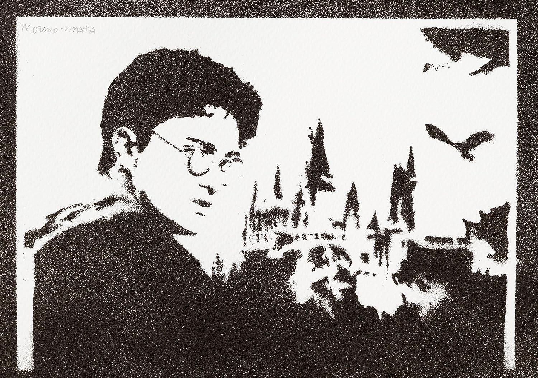 Harry Potter Handmade Street Art - Artwork - Poster