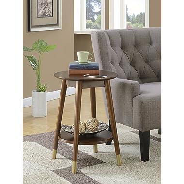 Convenience Concepts 7103050ES Wilson Mid Century Accent End Table, Espresso