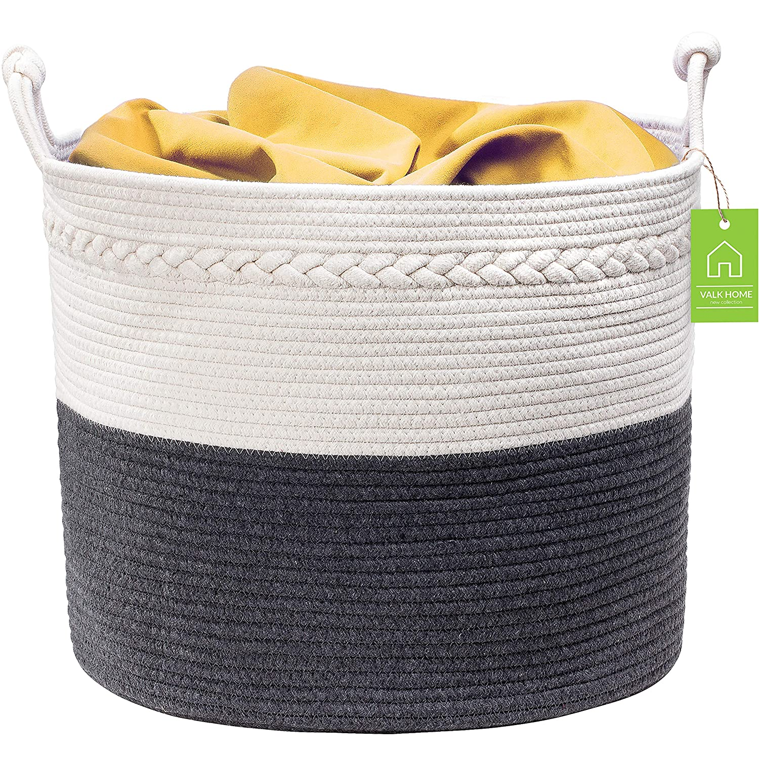 """Valk Home Rope Basket 