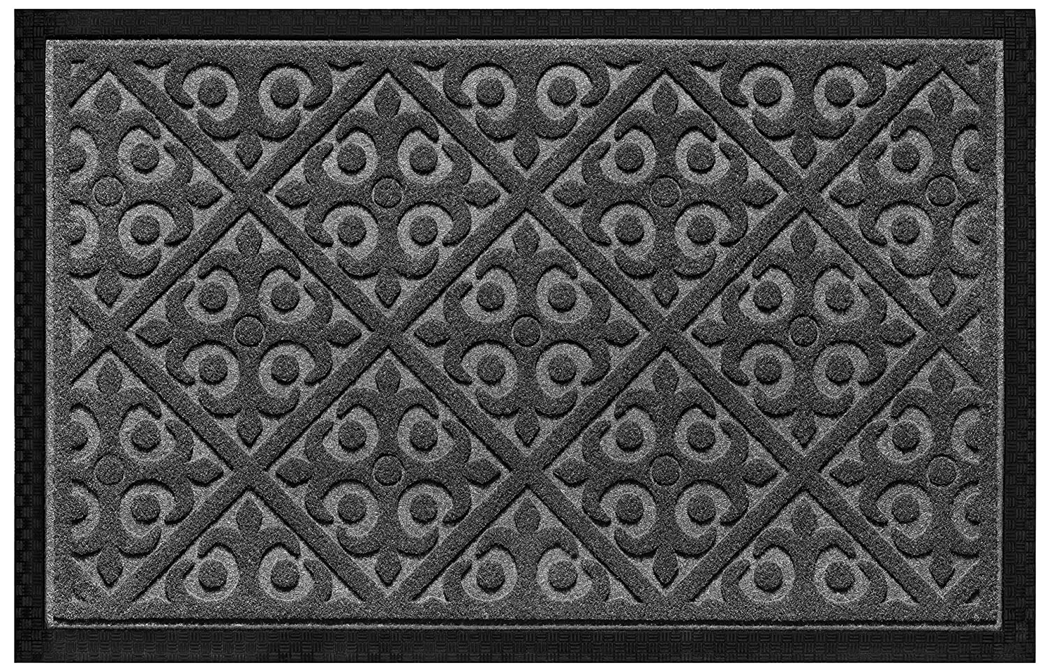 Amazon.com  Elogio Door Mat Indoor Outdoor Doormats Outside Effective Scraping of Dirt Patio Grass Moisture Snow Dust Grit Removal Ideal Low Profile ...  sc 1 st  Amazon.com & Amazon.com : Elogio Door Mat Indoor Outdoor Doormats Outside ... pezcame.com