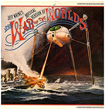 Unknown - JEFF WAYNE War of the worlds Double album with book featuring  Phil Lynott  - Amazoncom Music