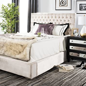Amazon.com: Safavieh Kent Collection Chester champaña Tufted ...