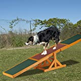 Relaxdays Colourful Wooden Pet Seesaw for Big and