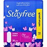 Stayfree Super No Wings 18