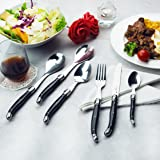 FLYINGCOLORS Laguiole Stainless Steel Flatware