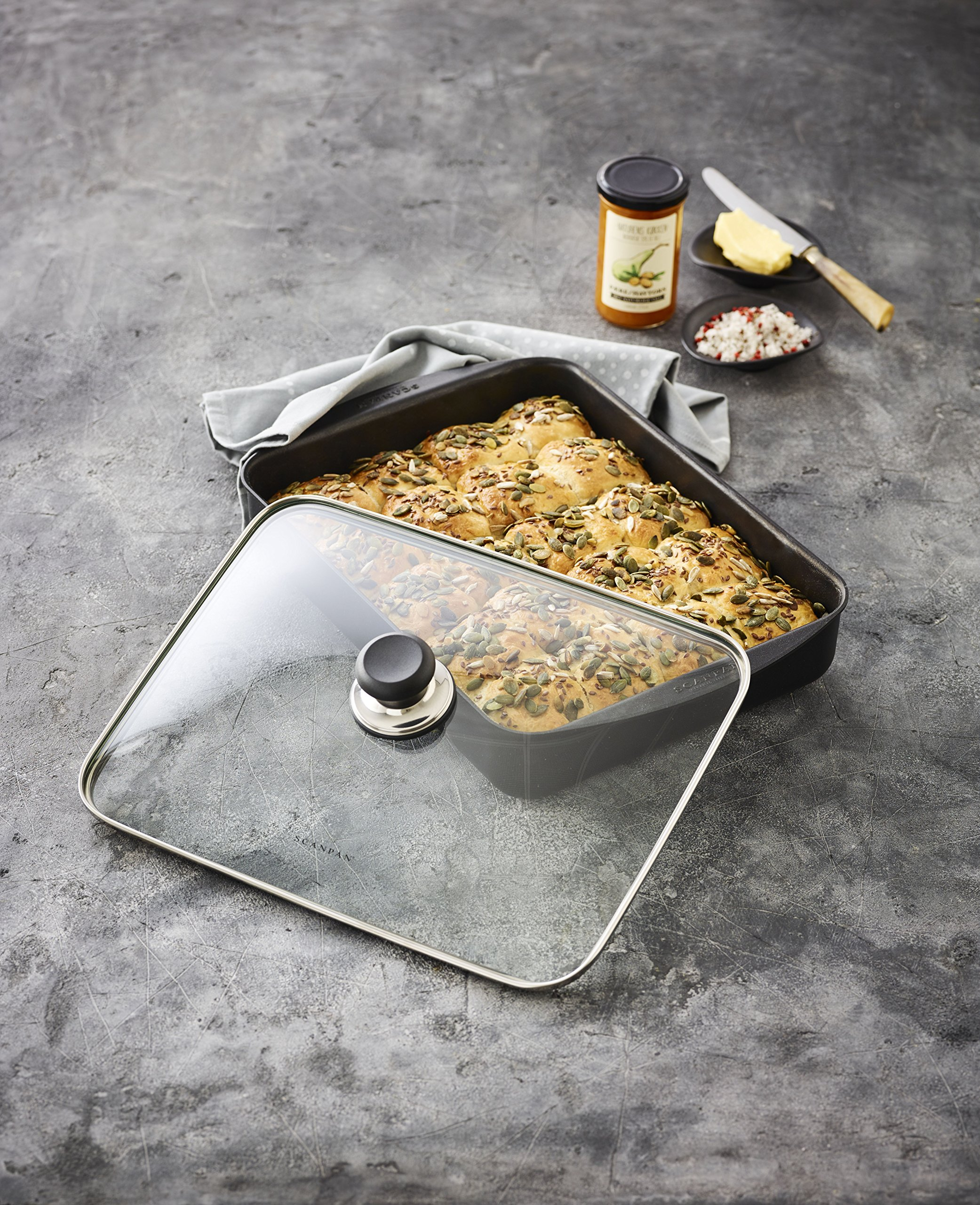Scanpan Classic Roasting Pan, 3.25 QT, 13.5'' x 8.75'' by Scanpan (Image #5)