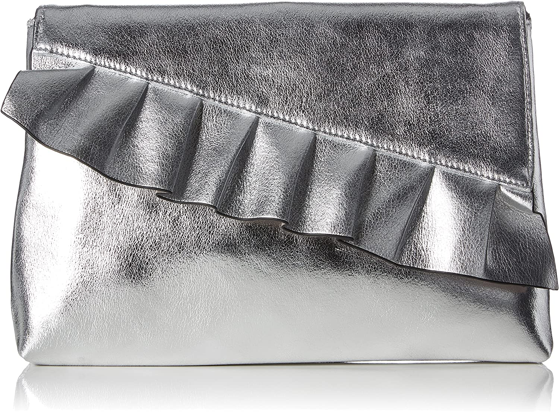 Buffalo 188637 Women/'s Clutch 2x22x30 cm B x H T Silver138 Silver