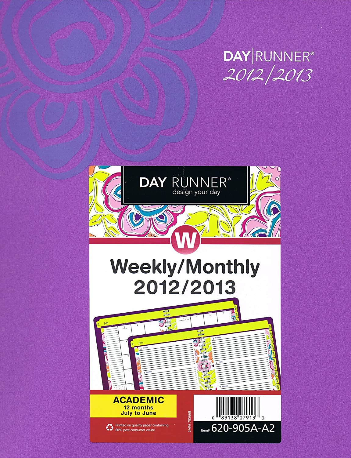 Amazon.com : Day Runner Good Vibrations Weekly/Monthly ...