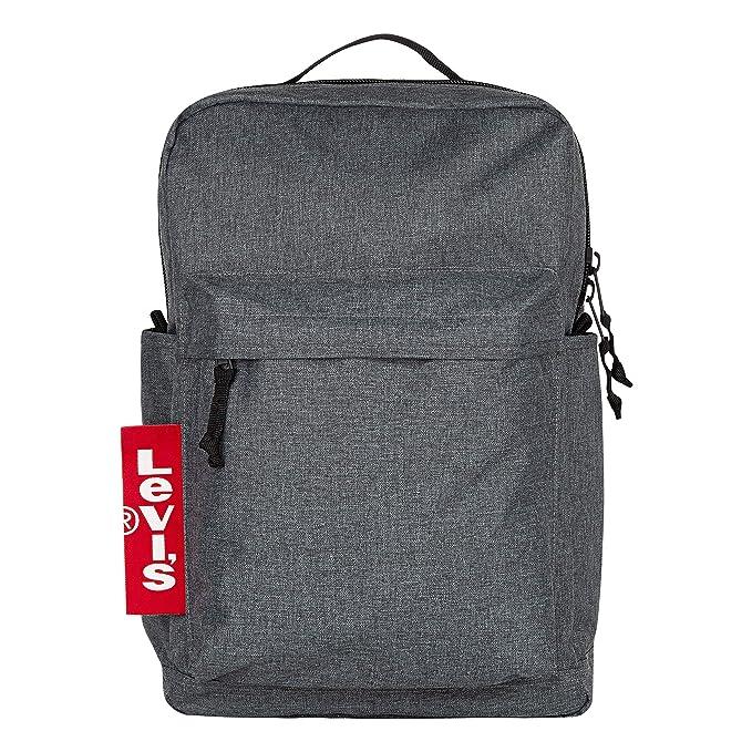 Levi's Men's L Pack Backpack, black heather, O/S