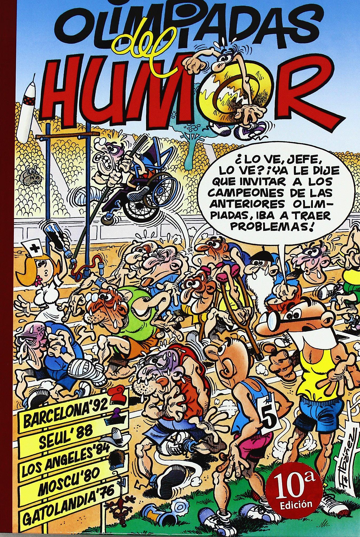 Olimpiadas del humor: Barcelona 92 | Seul 88 | Los Angeles 84 | Moscú 80 Súper Humor Mortadelo 2: Amazon.es: Ibáñez, Francisco: Libros