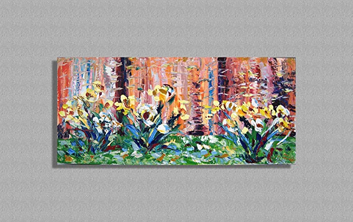 Quadro astratto colorato materico espressionista dipinto a