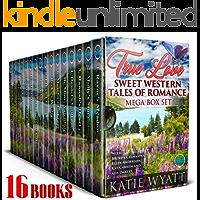 True Love Sweet Western Tales of Romance: 16 Books (Mega Box Set Series Book 15)