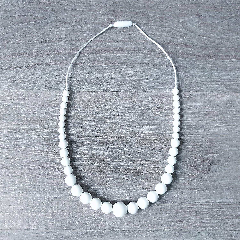 Cadeau de naissance - Collier d'allaitement de portage de dentition MintyWendy - Louise