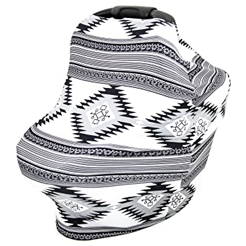 Baby Car Seat Canopy Nursing Scarf Breastfeeding Cover Shopping Cart Cover and Stroller  sc 1 st  Amazon.com & Amazon.com: Baby Car Seat Canopy Nursing Scarf Breastfeeding ...