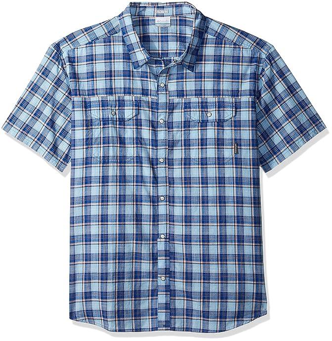 Columbia 哥伦比亚 Leadville Ridge 男式短袖衬衫 M码3.6折$15.87 海淘转运到手约¥124 中亚Prime会员凑单免运费直邮到手约¥155