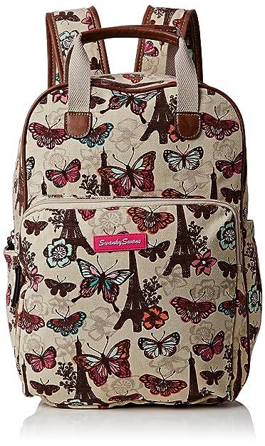 Mujer Butterfly Essex Swankyswans Noel Beige Mochila Paris Bolso qSwIAdxt