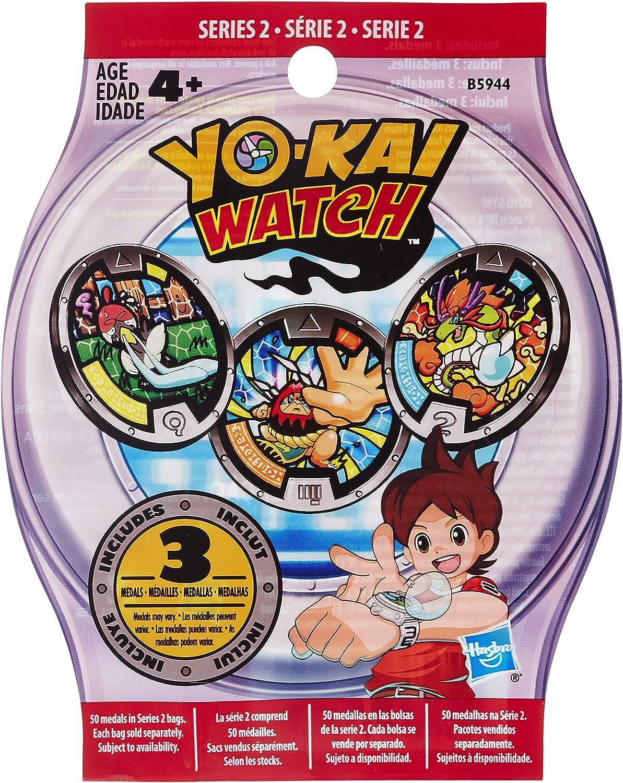 15 medalhas no total YO-KAI Série 3 3 WATCH-Pack Medals YOKAI B5944 Lote De 5