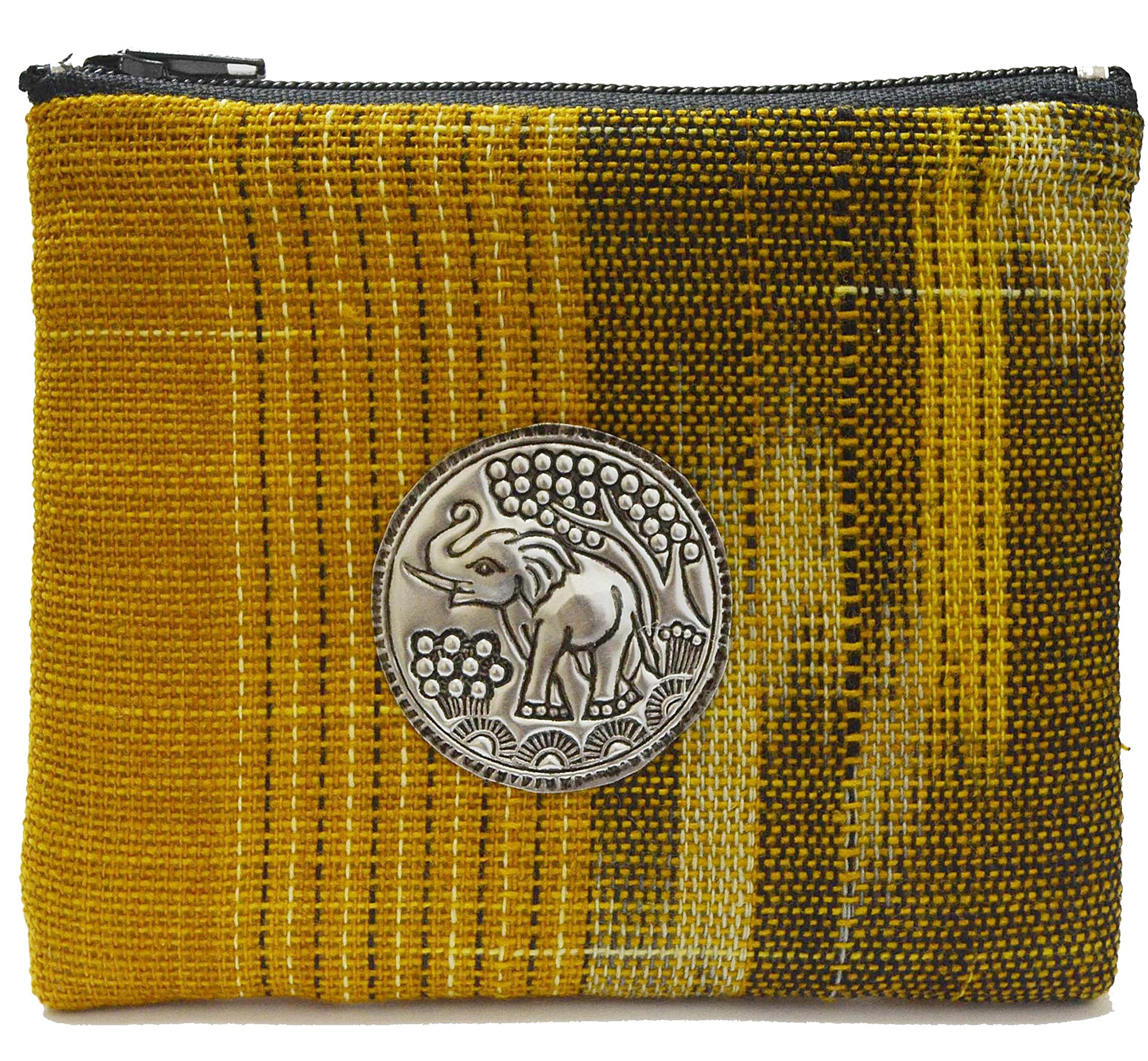 Thai Gift Thai Handmade Small Coin Bags Wallet Elephant Vintage Style From Thailand