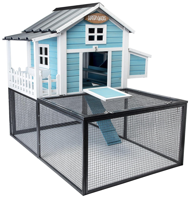 Amazon.com : SummerHawk Ranch Pacific Coast Chicken Coop, 3-YEAR ...