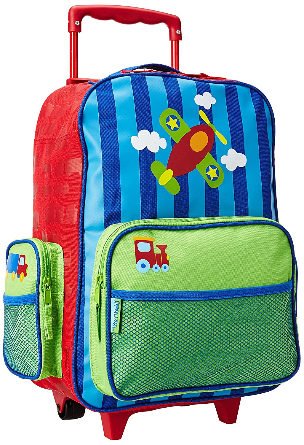 Stephen Joseph Little Boy's Classic Rolling Luggage, Accessory, Dino, No Size B-SIDE PLAYERS SJ-8001-59A