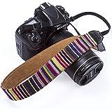 Lanière de caméra, Pbreack Épaule vintage poignet caméra sangle pour Canon Nikon Olympus Fuji Pentax Panasonic Sony