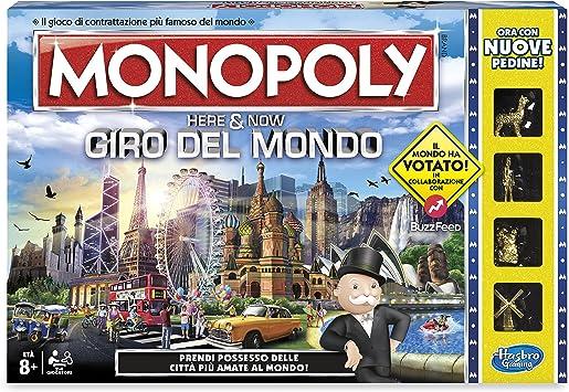Monopoly - Giro del Mundo, B2348456: Amazon.es: Juguetes y juegos