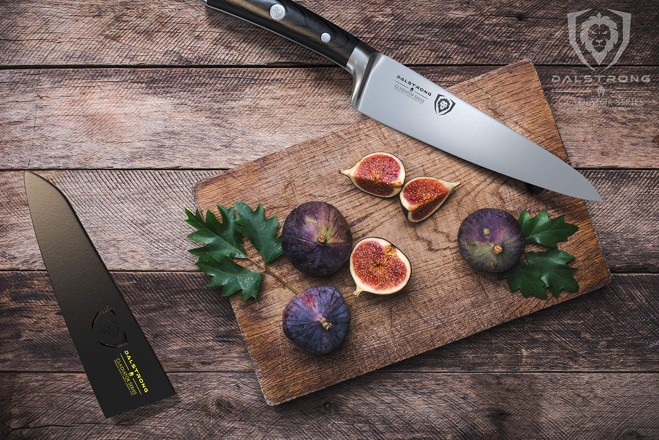 Dalstrong Chef's Knife - Gladiator Series - German HC Steel - 7'' w/Sheath by Dalstrong (Image #4)