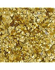 Wilton Gold Edible Hearts Glitter