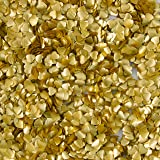 Wilton Gold Heart Edible Accents, 0.06 oz. - Cake Decorating Supplies